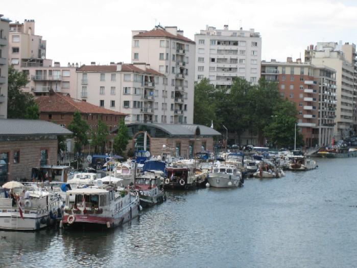 jachthaven centrum Toulouse