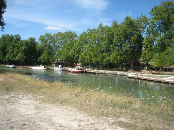 nieuwe kade in Villeton