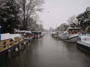 Maar de winter in de haven was niet veel anders