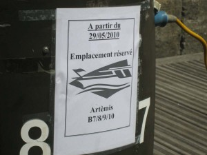 Bijna on-Frans goede organisatie in deze haven