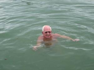 eindelijk zwemmen
