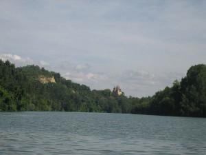 """""""kasteel"""" aan de Tarn"""