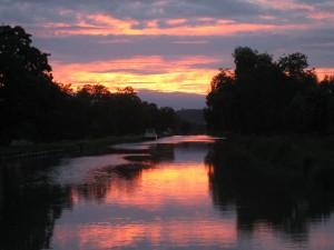 Weer een prachtige zonsondergang