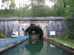 vóór de tunnel van Houdelaincourt (ruim 5 km lang)