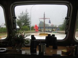 zomer 2011, koud, nat harde wind
