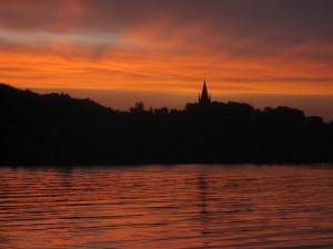 zomaar: net na zonsondergang
