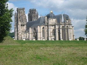 kathedraal van Toul, gezien vanaf de Moezel