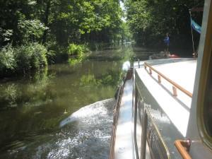 """canal de l'Est sud, een heerlijk """"we zijn weer terug"""" gevoel."""