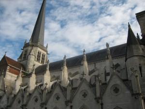 Deel van de kerk in Auxonne, ook uit de 16e eeuw