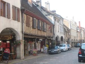 Louhans, dorp van arcaden en kippenboeren