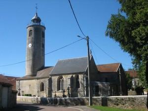 de kerk van piepape: zouden al die graanboeren vinden dat een kerk toch ook iets van een silo weg heeft?