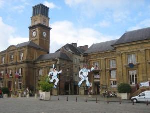 het mondiale marionettenfestival in Charleville-Mezieres