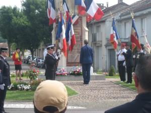 14 juli: herdenking bij het monument