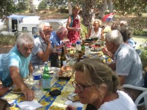 Verjaardagsdiner in Mirepeisset