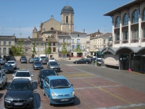 Place du Marché in Marmande