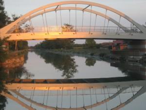 dezefde brug in de middag