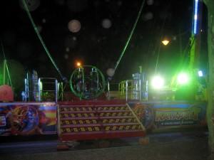 Kermis in Moissac 3: 60 meter omhoog op en neer