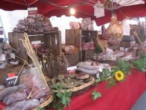 markt in Valence d'Agen