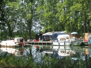Haventje van Meilhan sur Garonne