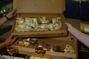 pizza's, war ruim bemeten
